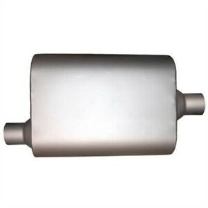 Jones Exhaust Jub903 Quiet Tone Muffler Offset In Center Out 2 Inlet 2 Outlet 4