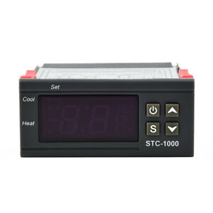 Stc 1000 Digital Temperature Humidity Controllers Probe Cables Thermostat Kit