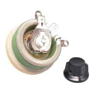 50w 20 Ohm High Power Wirewound Potentiometer Rheostat Variable Resistor