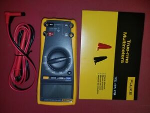 Fluke 177 True Rms Digital Multimeter W backlighting