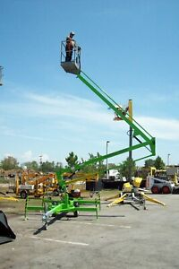 Nifty Tm34m 40 Boom Lift hydraulic Outriggers honda Power brand New Only 16900