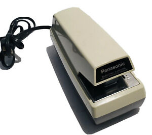 Panasonic Commercial Electric Stapler As 300 Creme Excellent Tested Working