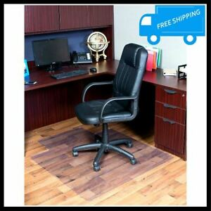 36x48 Inch Lip Clear Rolling Chair Mat Office Computer Desk Hard Floor Protector