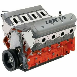 Chevrolet Performance 19332312 Lsx376 b8 376ci Engine 476 Hp 5900 Rpm 475 Ft l