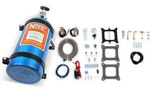 Nos Powershot Nitrous System For Holley 4150 Carter Afb 125hp W 10 Lb Bottle