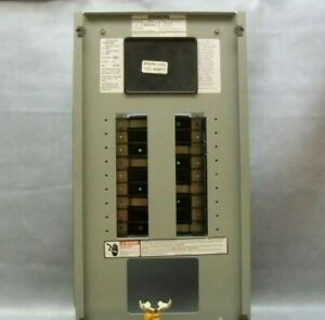 Siemens Distribution Panel 3 Phase 4 Wire 208y 120 P1 Panel Type P1c18ml125atf