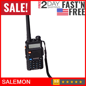 Police Fire Radio Two Way Scanner Transceiver Handheld Portable F Antenna Ham Us