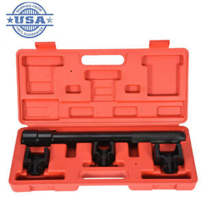 Inner Tie Rod Removal Kit 4set Mechanics Installation Tool Dual Socket Adapter