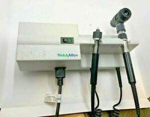 Welch Allyn 767 Series Transformer With 23810 Otoscope Head Used