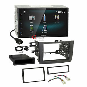 Kenwood Smartphone Android Gry Stereo Dash Kit Harness For 09 13 Toyota Corolla