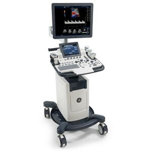 Ob vasc Ge Logiq F8 R2 Ultrasound Machine System Only With 19 Lcd Monitor