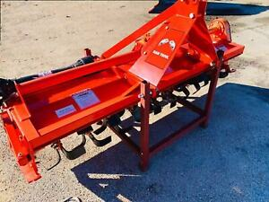 6 Ft Heavy Duty Gear Driven Rotary Tiller 12900177 Free Local Pick Up