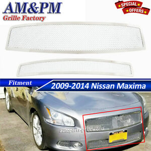 Fits 2009 2014 Nissan Maxima Stainless Steel Mesh Front Grille Insert 2012 2010