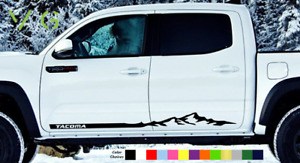 Toyota Tacoma Vinyl Decal Sticker Graphics Trd Sport Side Door X2 Any Color