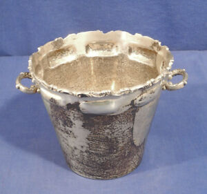 Vtg Sterling Silver Ice Bucket M R M Hecho En Mexico D F 5 5 X 6 5 17 46 To