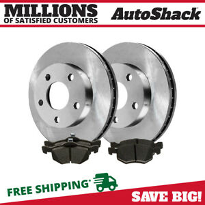 Front Rotors Ceramic Pads For 2001 2006 2007 Ford Escape 2001 2006 Mazda Tribute
