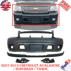 Front Bumper Cover Valance For 07 14 Chevy Tahoe Suburban 07 13 Avalanche