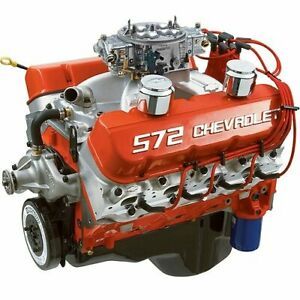 Chevrolet Performance 19331585 Zz572 720r Deluxe Engine 727 Hp 6300 Rpm 680 Ft