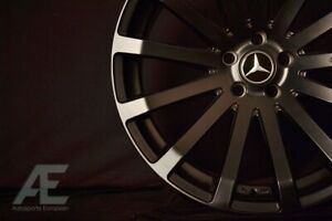 18 inch Mercedes C350 E350 Audi A4 Wheels rims Hr9 Matte Black 5x112 Lugs
