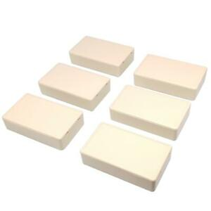 Us Stock 6pcs Plastic Project Box Electronic Enclosure Case Diy 20 X 50 X 85mm