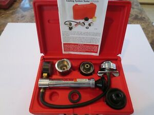 Snap On Tools Cooling System Radiator Tester Svts262b Excellent Condition