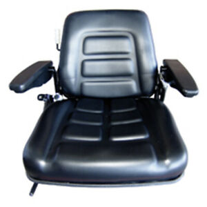 Ctp906a Seat With Armrest Fits Caterpillar