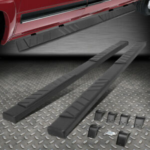 For 09 20 Ram 1500 2500 3500 Quad Cab Black 5 Side Step Nerf Bar Running Board