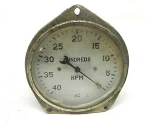 1930s Chevrolet Gm Tachometer 4000 Rpm Ac 860904 Hot Rat Rod Special Untested