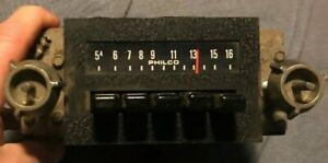 Philco Vintage Car Radio Ford D4aa 18806 Mustang