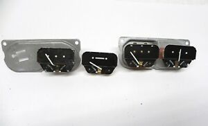 Lot 1955 56 57 58 59 Chevrolet Truck Dash Gauge Nos Used Parts 2 Temps One Amp