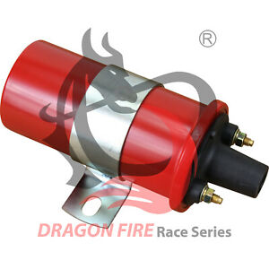 Dragon Fire Performance Universal Remote Mount Canister Oil Filled Ignition Coil