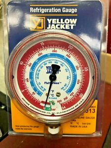 Yellow Jacket Ritchie Gauge Refrigeration 2 1 2 R134a 30 To 0 0 To 500