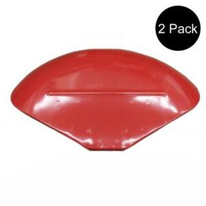 2 Fenders With Brackets Fits Massey Ferguson Te20 To20 To30 To35 35 40 50