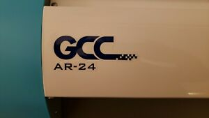 Gcc Ar 24 Vinyl Cutter Plotter Slightly Used Great Startup Business Easy Use