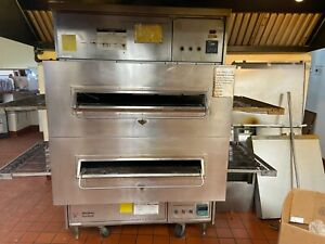 Midway Marshall Doublestack Pizza Oven Conveyor Belt