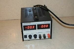 Electro Industries Model Digi 35a Regulated Dc Power Supply n2