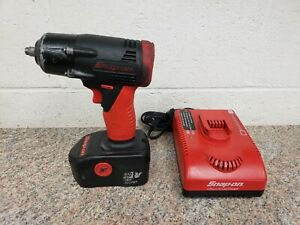 Snap on 3 8 Cordless Impact Wrench Used Works Great 18v