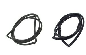 Fits 1959 1960 Chevy Impala Bel Air Hardtop Windshield And Rear Glass Seals