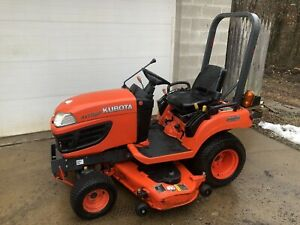 2011 Kubota Bx1860 Diesel Compact Tractor Mower 54 Deck Only 410 Hours Great Pa