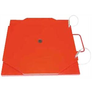 Powder Coated Mild Steel Turn Plate Set With 8 000 Lb Capacity set Of 2 New
