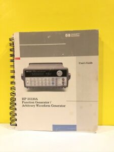 Hp 33120a Function Generator arbitrary Waveform Generator User s Guide