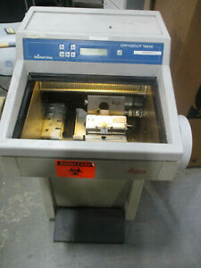 Reichert Jung Leica Cryocut Model 1800 With 2020 Microtome