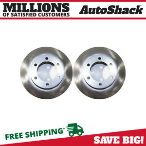 Front Brake Rotor Pair For 2000 2004 2005 2006 Toyota Tundra 2001 2007 Sequoia
