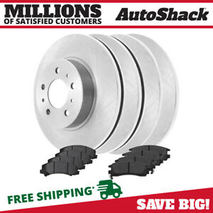 Front Rear Rotors And Metallic Pads For 2006 2010 Impala 2006 2007 Monte Carlo