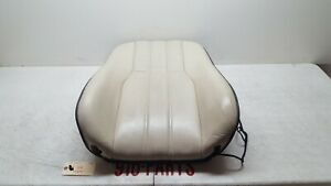 06 09 Range Rover Supercharged L322 Front Driver Seat Upper Back Cushion Ivory