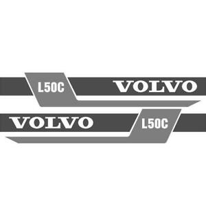 Decal Set For Volvo Wheel Loader L50c Ns new Style