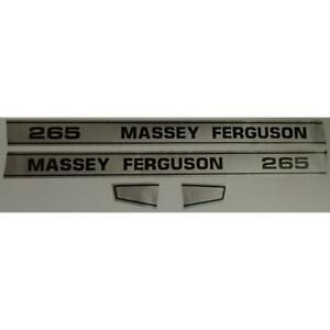 Hood Decal Set For Massey Ferguson 265