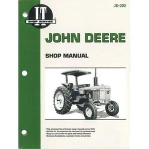 Jd 202 I t Shop Manual For John Deere Jd Tractor 2040 2240 2440 4240 4040 4440