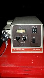 Beckman Model 110a Solvent Delivery Pump 50 150 Psi Chemistry Bio Lab