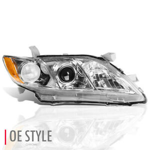 For 2007 2009 Toyota Camry Right passenger Side Projector Headlight Headlamp